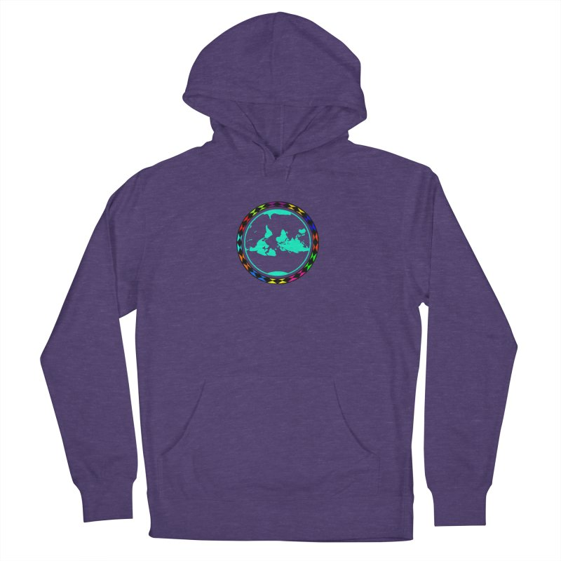 New Vision UN - Center Chest Women's French Terry Pullover Hoody by Ugovi Artist Shop