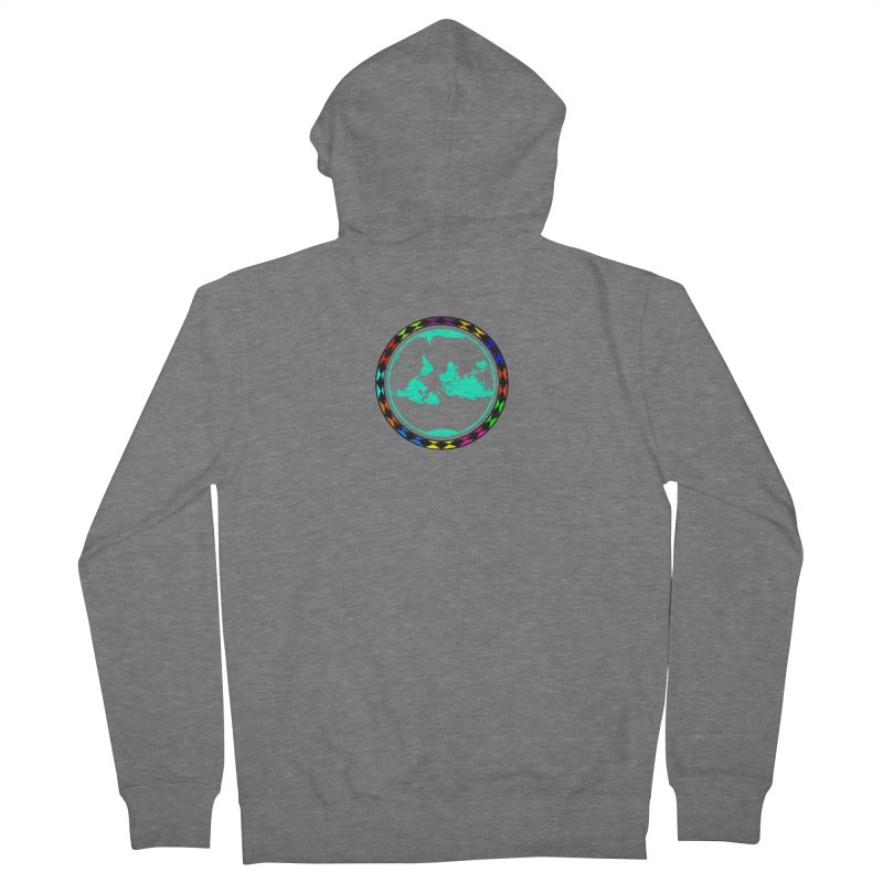 New Vision UN - Center Chest Men's French Terry Zip-Up Hoody by Ugovi Artist Shop