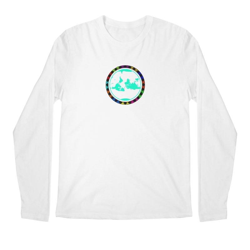 New Vision UN - Center Chest Men's Regular Longsleeve T-Shirt by Ugovi Artist Shop