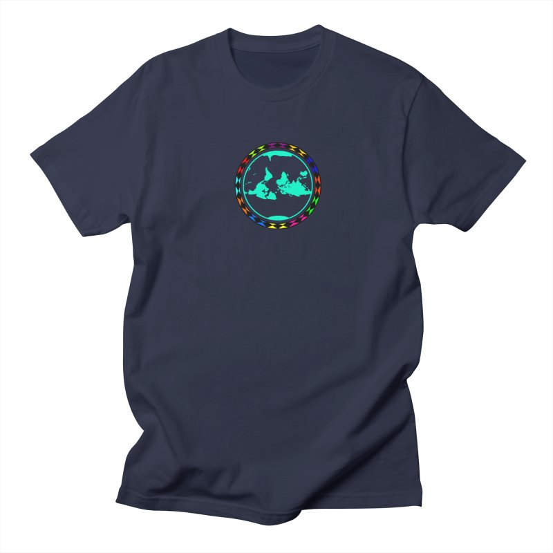 New Vision UN - Center Chest Women's Regular Unisex T-Shirt by Ugovi Artist Shop