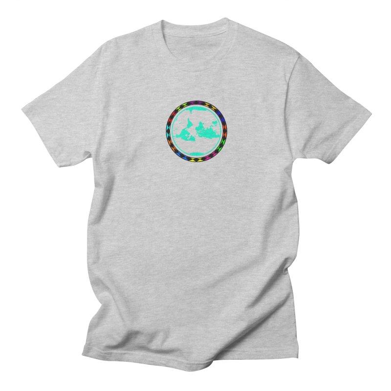 New Vision UN - Center Chest Men's Regular T-Shirt by Ugovi Artist Shop
