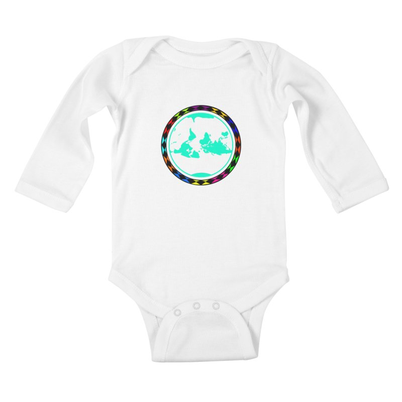 New Vision UN - Center Chest Kids Baby Longsleeve Bodysuit by Ugovi Artist Shop