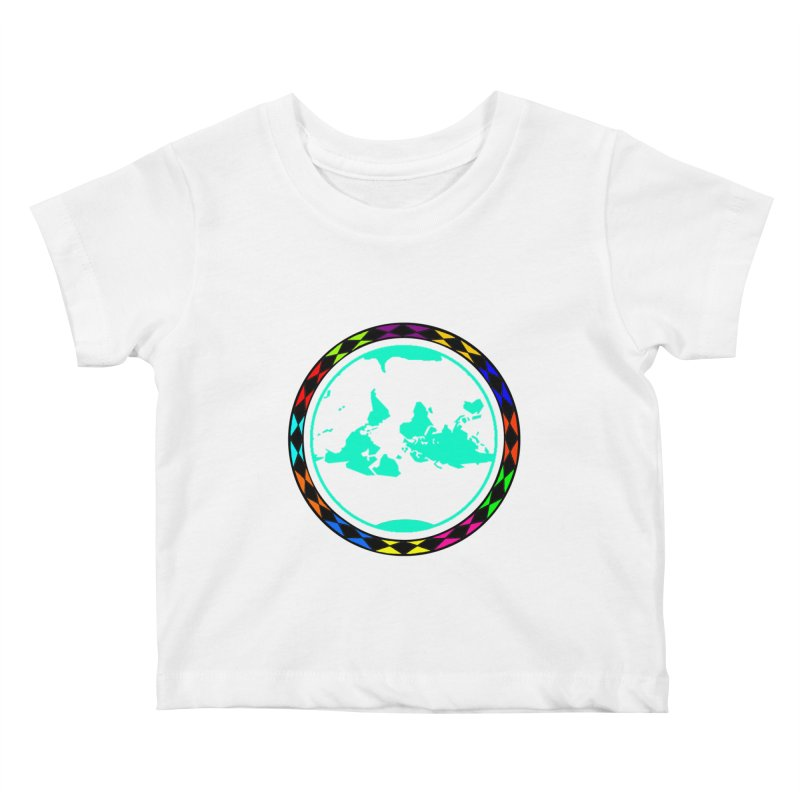 New Vision UN - Center Chest Kids Baby T-Shirt by Ugovi Artist Shop