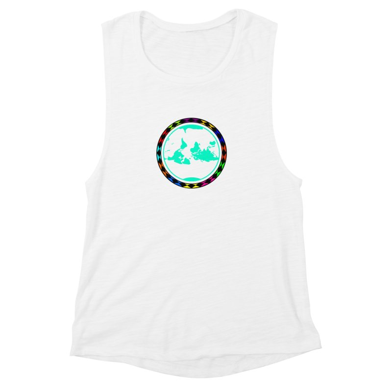 New Vision UN - Center Chest Women's Muscle Tank by Ugovi Artist Shop