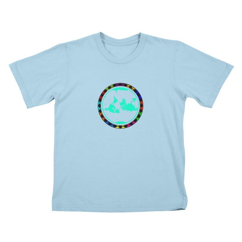 New Vision UN - Center Chest Kids T-Shirt by Ugovi Artist Shop