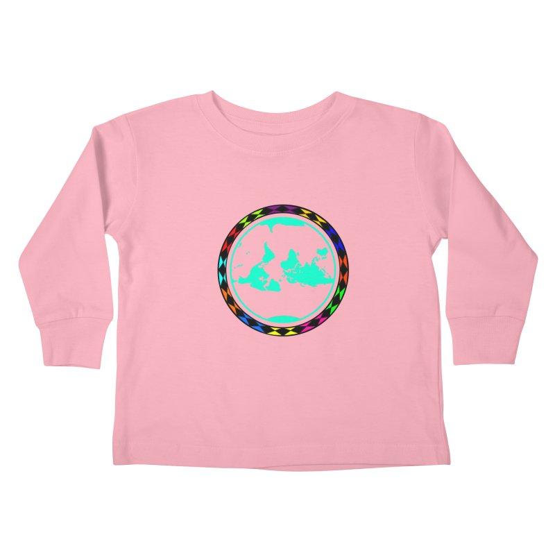 New Vision UN - Center Chest Kids Toddler Longsleeve T-Shirt by Ugovi Artist Shop