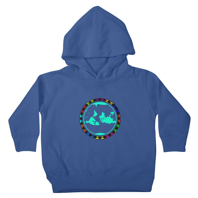 New Vision UN - Center Chest Kids Toddler Pullover Hoody by Ugovi Artist Shop