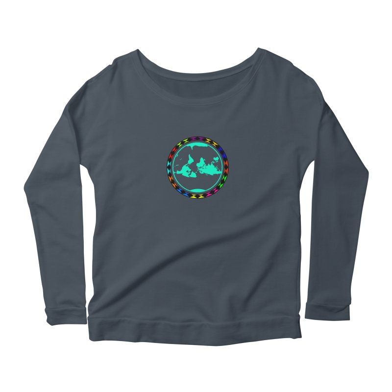 New Vision UN - Center Chest Women's Scoop Neck Longsleeve T-Shirt by Ugovi Artist Shop