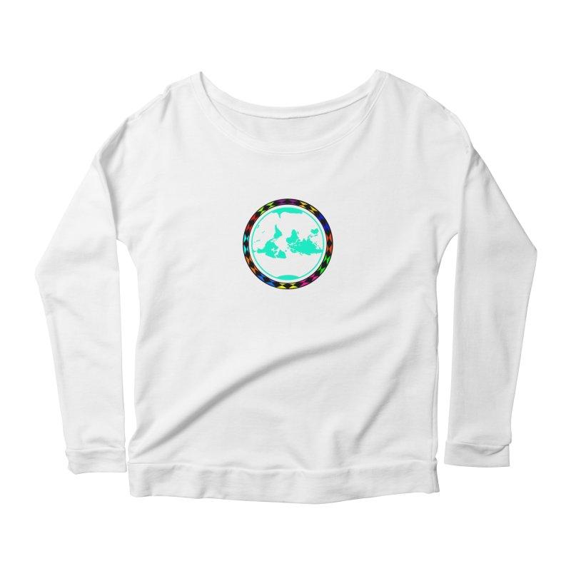 New Vision UN - Center Chest Women's Scoop Neck Longsleeve T-Shirt by Ugovi Artist Shop