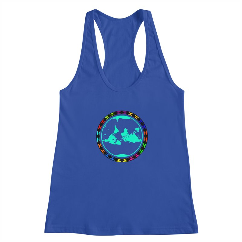 New Vision UN - Center Chest Women's Racerback Tank by Ugovi Artist Shop