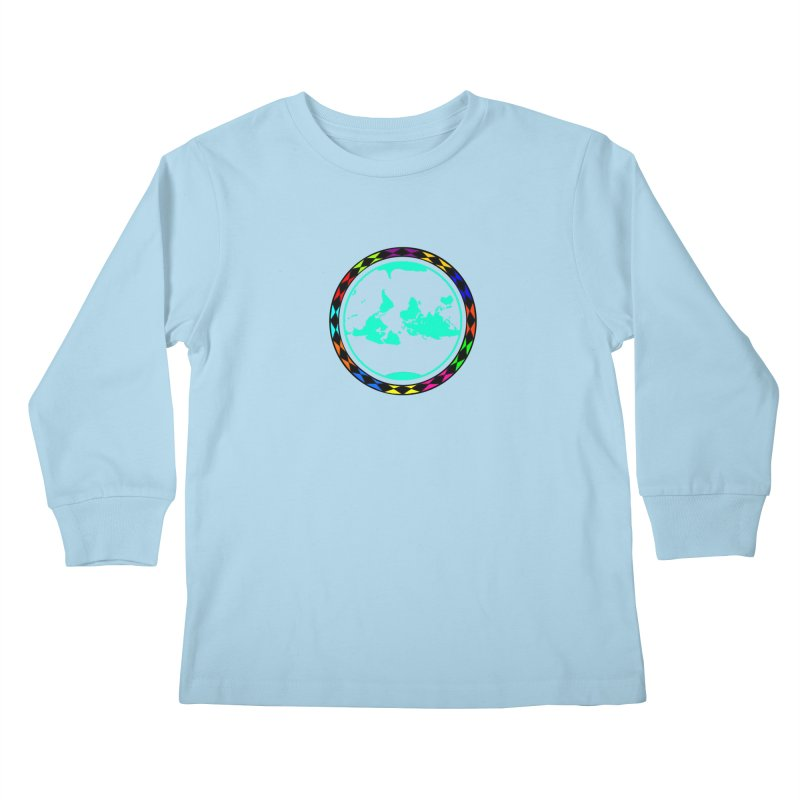 New Vision UN - Center Chest Kids Longsleeve T-Shirt by Ugovi Artist Shop