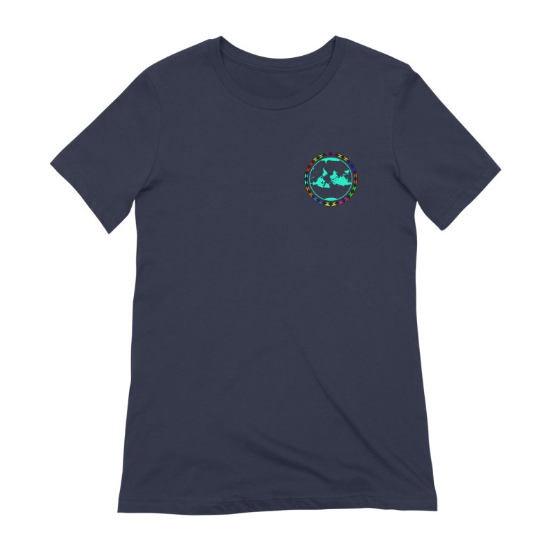 New Vision UN - Heart Position Women's Extra Soft T-Shirt by Ugovi Artist Shop