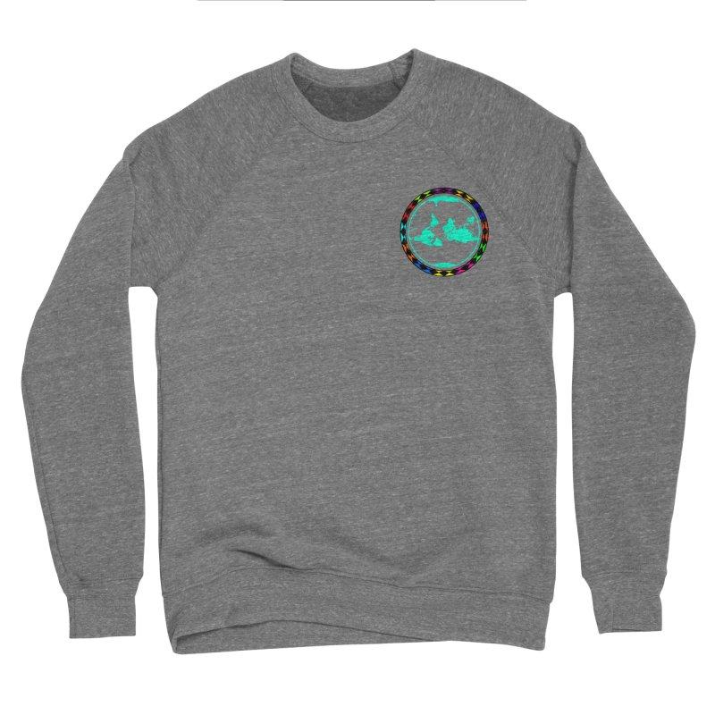 New Vision UN - Heart Position Men's Sponge Fleece Sweatshirt by Ugovi Artist Shop