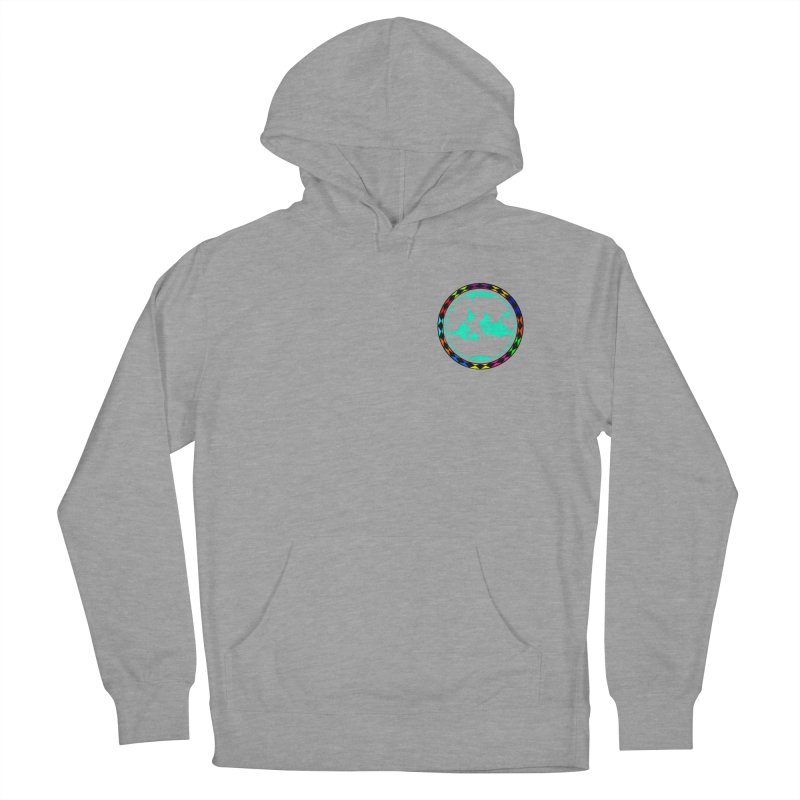 New Vision UN - Heart Position Women's French Terry Pullover Hoody by Ugovi Artist Shop