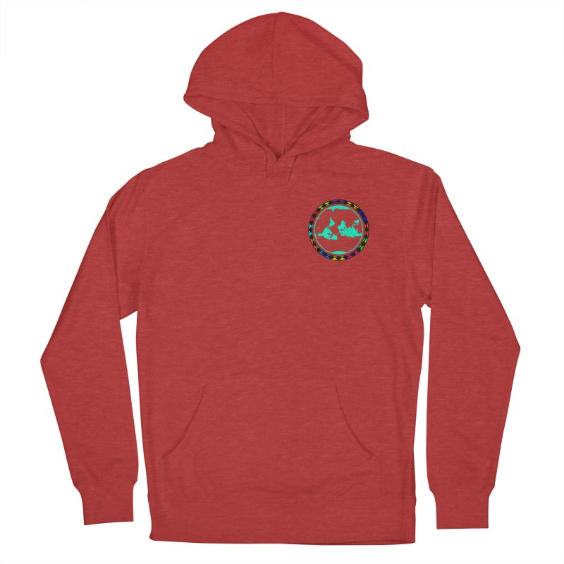 New Vision UN - Heart Position Men's French Terry Pullover Hoody by Ugovi Artist Shop