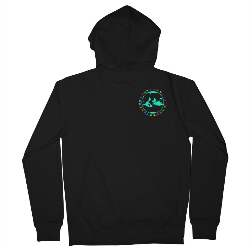 New Vision UN - Heart Position Women's French Terry Zip-Up Hoody by Ugovi Artist Shop
