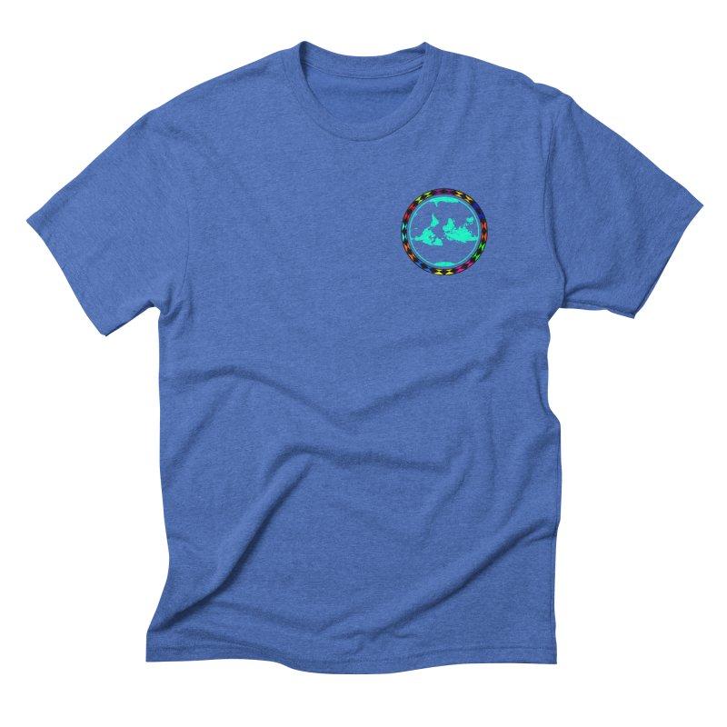 New Vision UN - Heart Position Men's Triblend T-Shirt by Ugovi Artist Shop