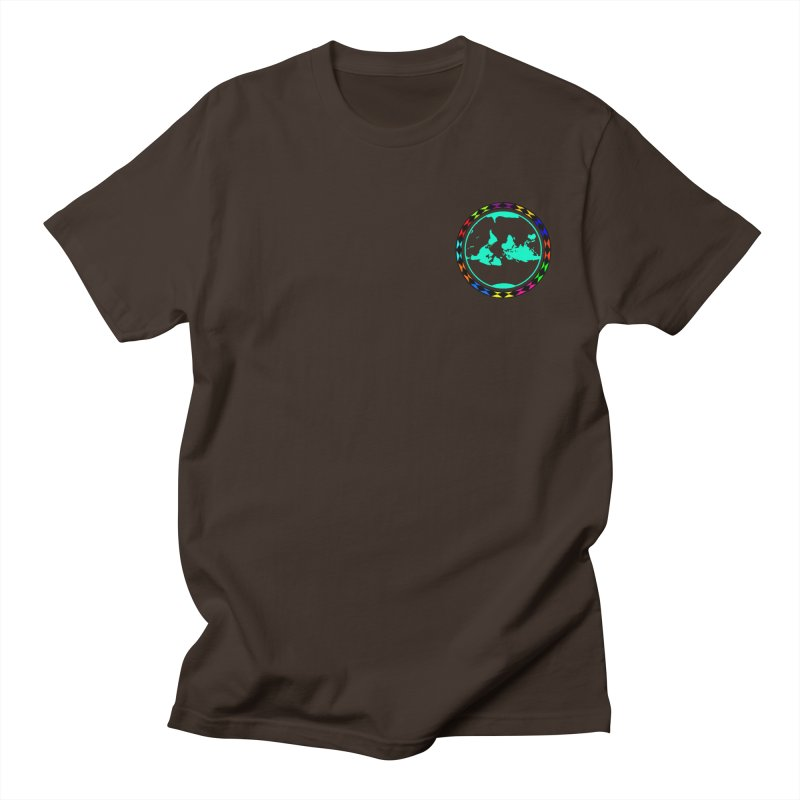 New Vision UN - Heart Position Men's Regular T-Shirt by Ugovi Artist Shop