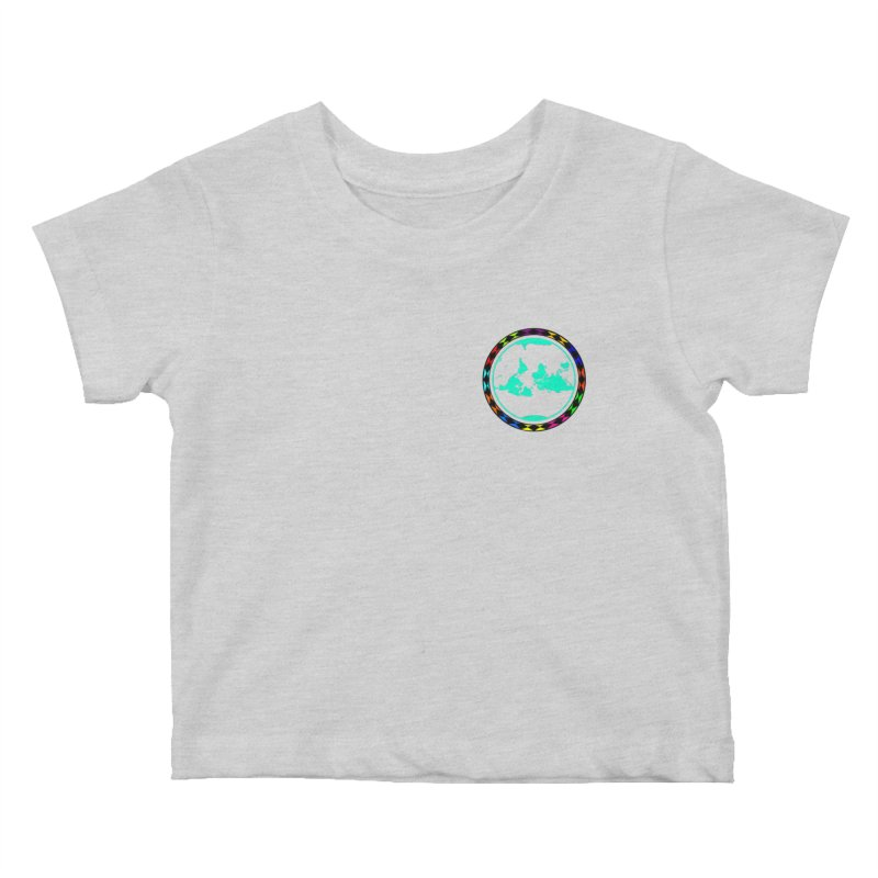 New Vision UN - Heart Position Kids Baby T-Shirt by Ugovi Artist Shop