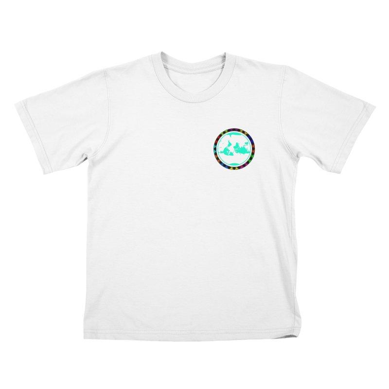 New Vision UN - Heart Position Kids T-Shirt by Ugovi Artist Shop