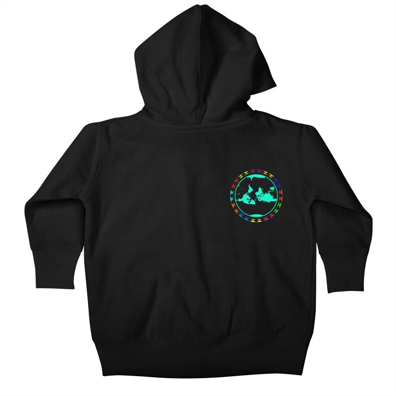 New Vision UN - Heart Position Kids Baby Zip-Up Hoody by Ugovi Artist Shop