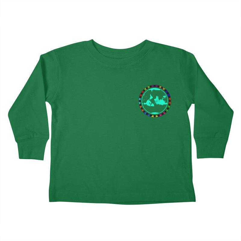 New Vision UN - Heart Position Kids Toddler Longsleeve T-Shirt by Ugovi Artist Shop