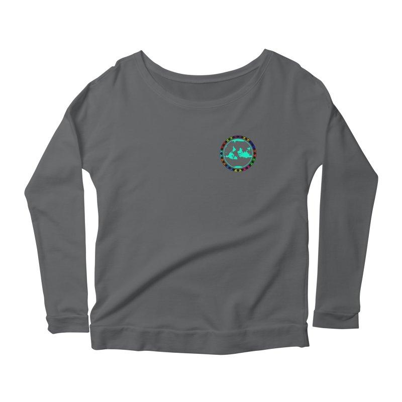New Vision UN - Heart Position Women's Scoop Neck Longsleeve T-Shirt by Ugovi Artist Shop