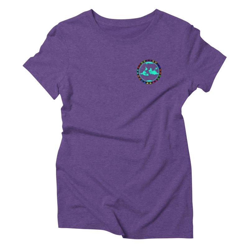 New Vision UN - Heart Position Women's Triblend T-Shirt by Ugovi Artist Shop