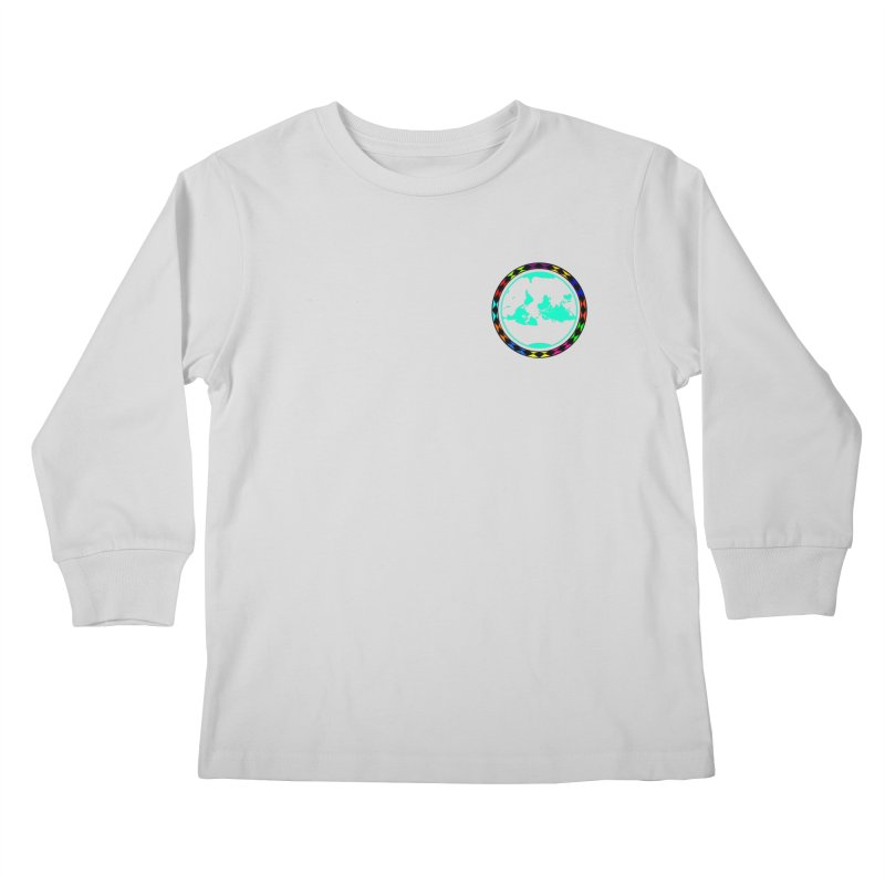 New Vision UN - Heart Position Kids Longsleeve T-Shirt by Ugovi Artist Shop