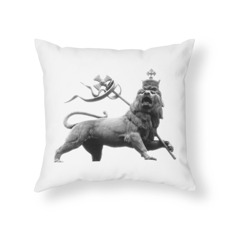 Lion of Judah Home Throw Pillow by Ugovi Artist Shop