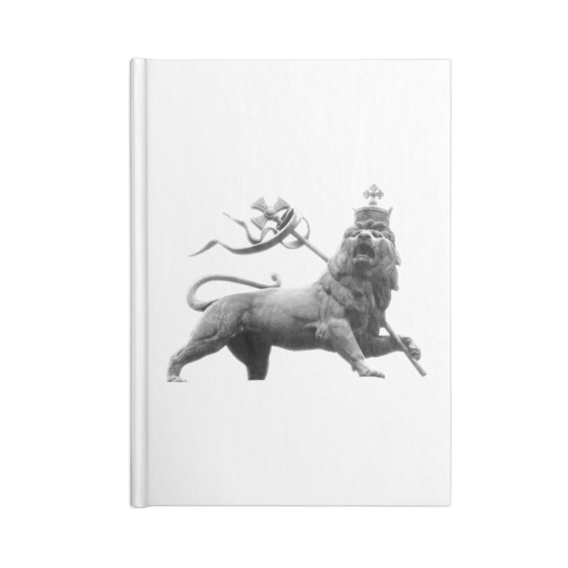 Lion of Judah Accessories Lined Journal Notebook by Ugovi Artist Shop