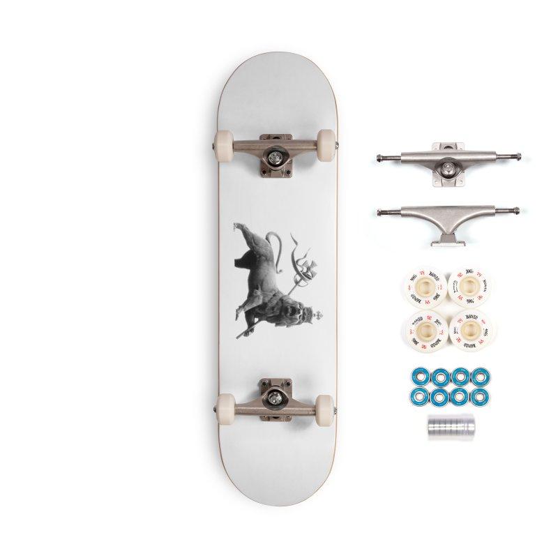 Lion of Judah Accessories Complete - Premium Skateboard by Ugovi Artist Shop