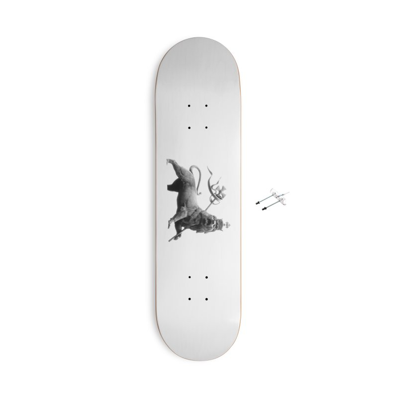 Lion of Judah Accessories With Hanging Hardware Skateboard by Ugovi Artist Shop
