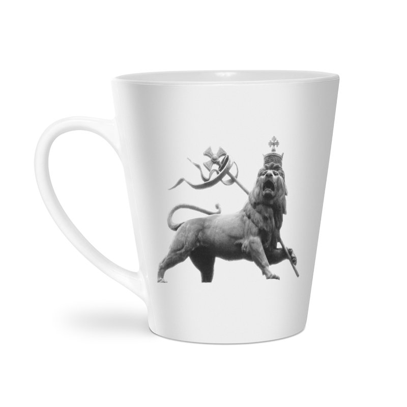 Lion of Judah Accessories Latte Mug by Ugovi Artist Shop