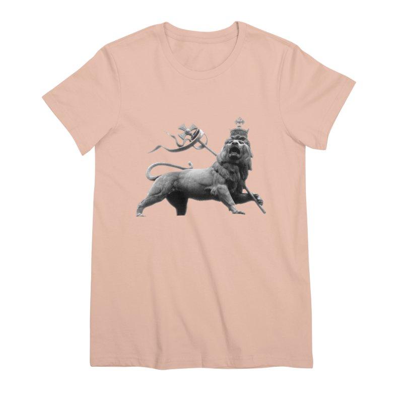 Lion of Judah Women's Premium T-Shirt by Ugovi Artist Shop