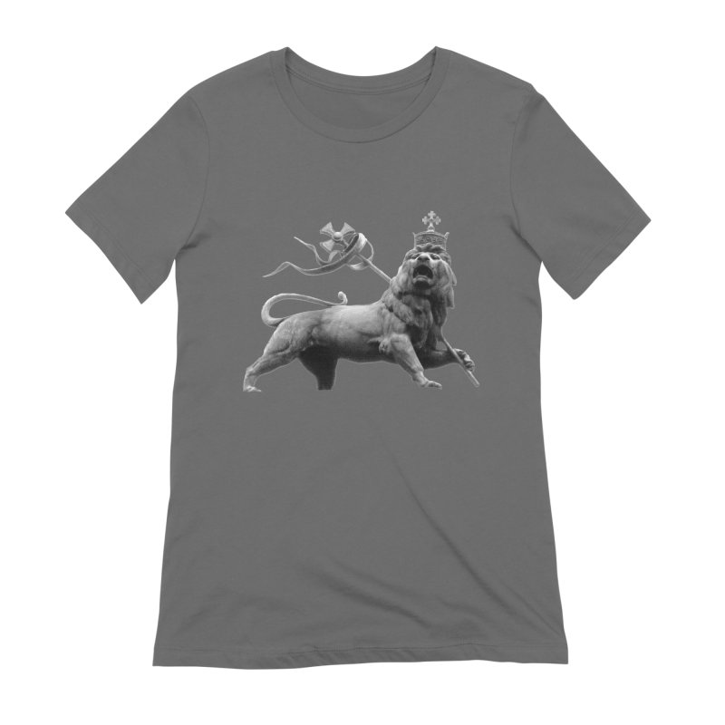 Lion of Judah Women's Extra Soft T-Shirt by Ugovi Artist Shop