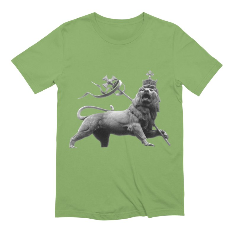 Lion of Judah Men's Extra Soft T-Shirt by Ugovi Artist Shop
