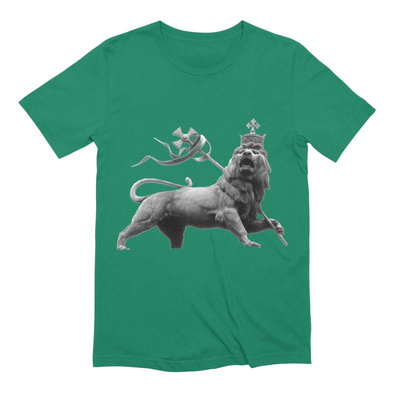 Lion of Judah Men's Extra Soft T-Shirt by Ugovi Artist Shop