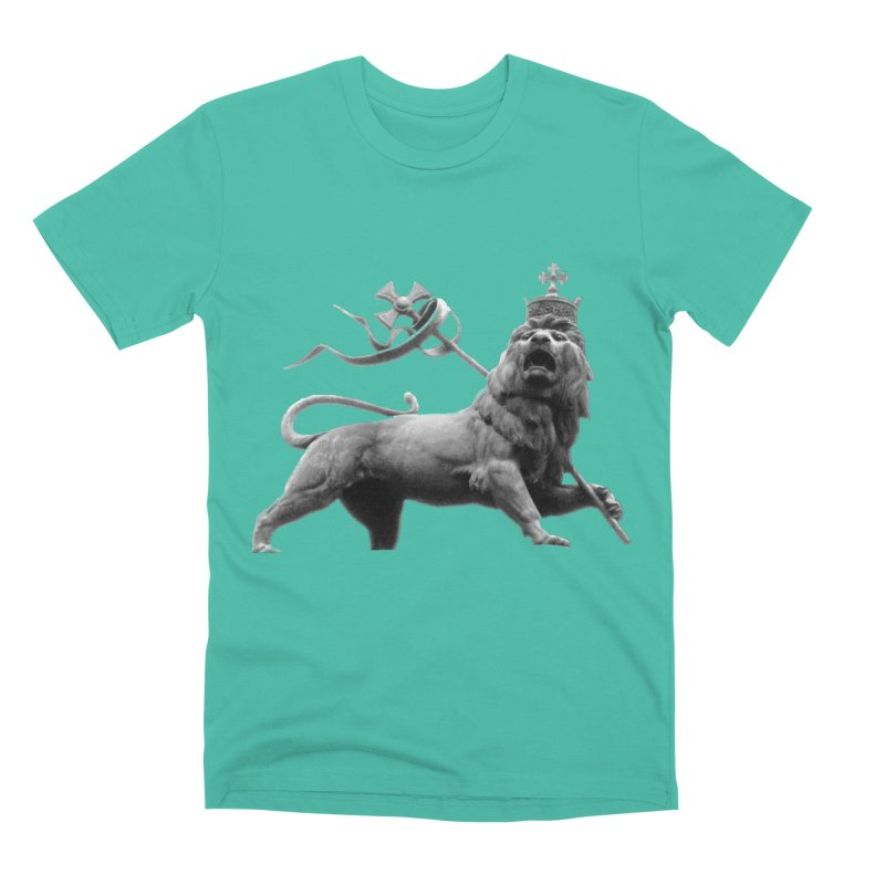 Lion of Judah Men's Premium T-Shirt by Ugovi Artist Shop