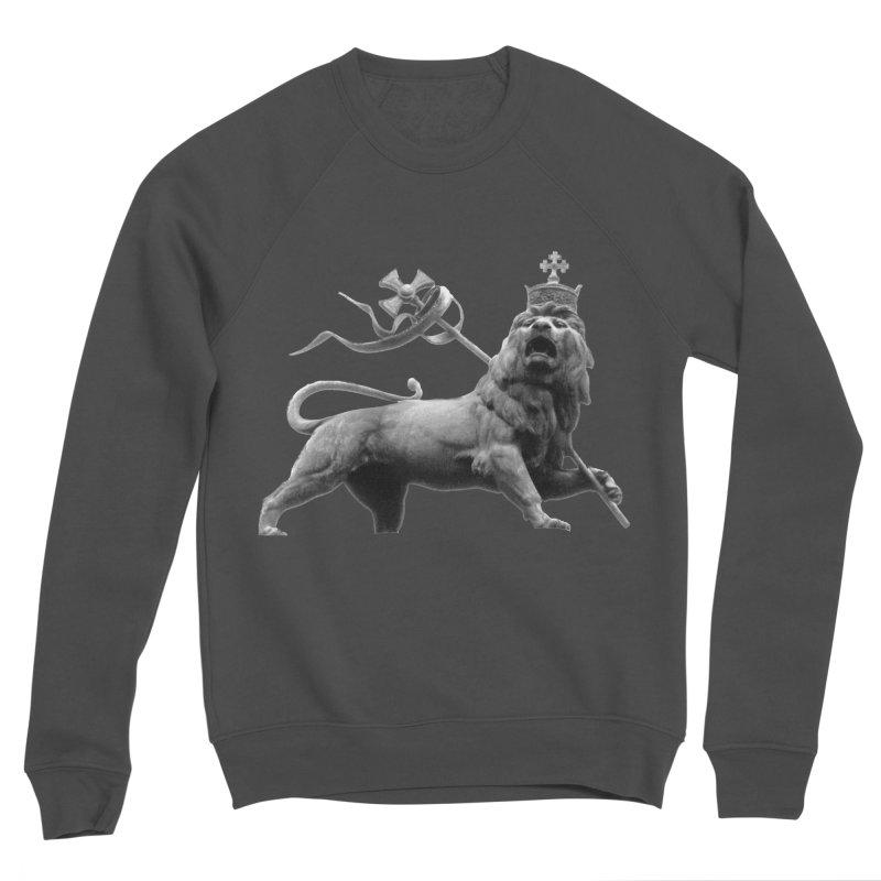 Lion of Judah Men's Sponge Fleece Sweatshirt by Ugovi Artist Shop