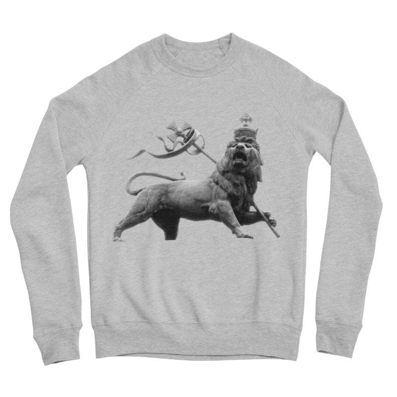 Lion of Judah Women's Sponge Fleece Sweatshirt by Ugovi Artist Shop