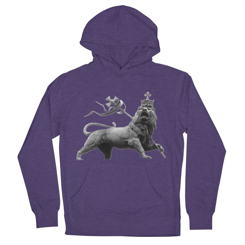 Lion of Judah Women's French Terry Pullover Hoody by Ugovi Artist Shop