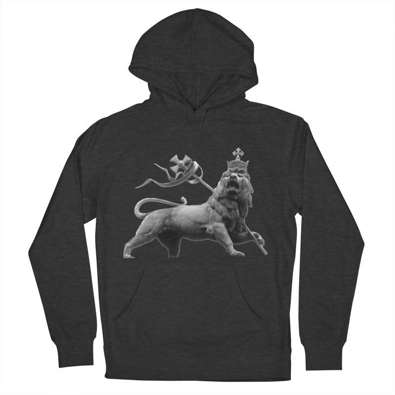 Lion of Judah Men's French Terry Pullover Hoody by Ugovi Artist Shop