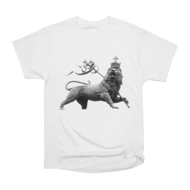Lion of Judah Men's Heavyweight T-Shirt by Ugovi Artist Shop