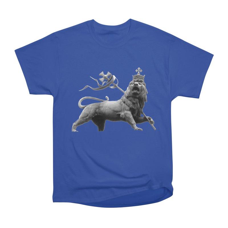 Lion of Judah Men's Heavyweight T-Shirt by Ugovi Artist Shop