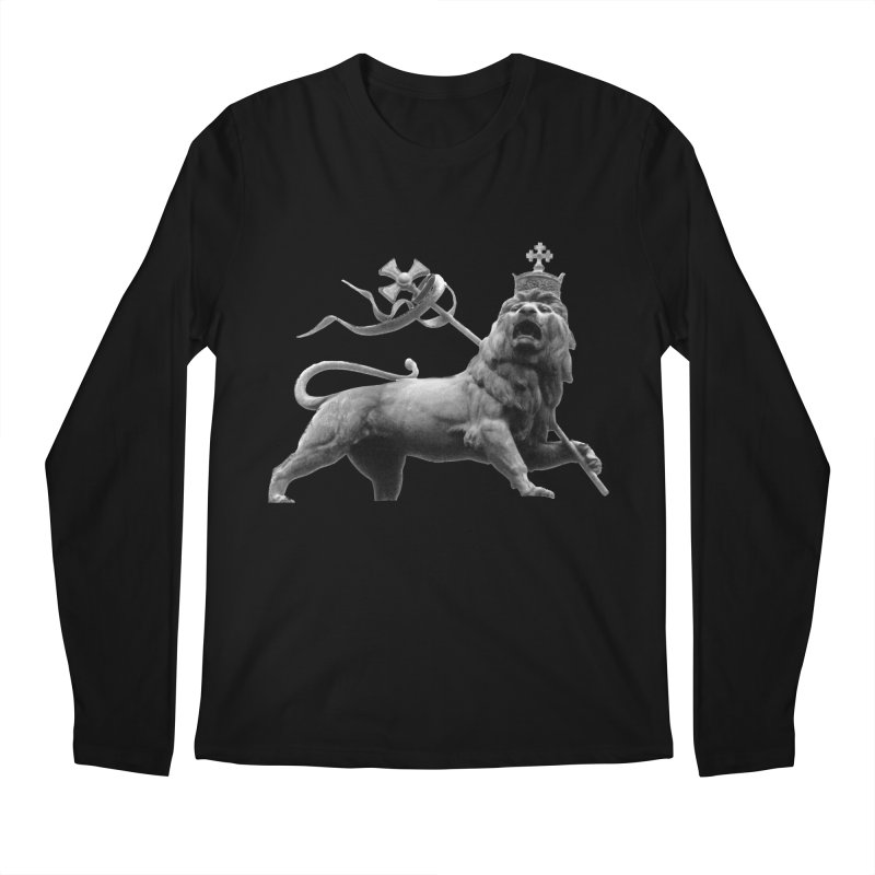 Lion of Judah Men's Regular Longsleeve T-Shirt by Ugovi Artist Shop