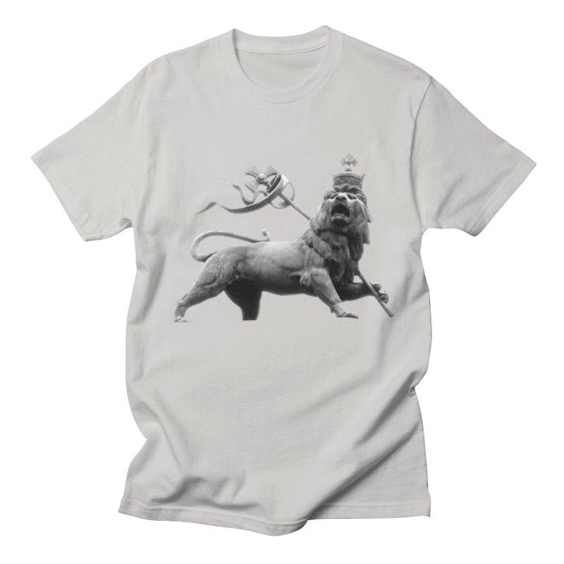 Lion of Judah Men's Regular T-Shirt by Ugovi Artist Shop