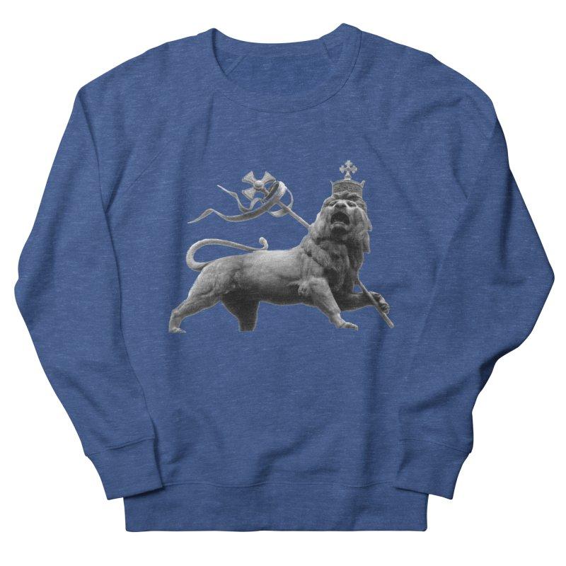 Lion of Judah Women's French Terry Sweatshirt by Ugovi Artist Shop