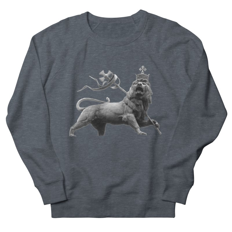 Lion of Judah Women's French Terry Sweatshirt by Ugovi Artist Shop