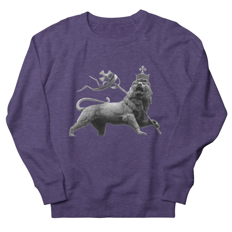 Lion of Judah Men's French Terry Sweatshirt by Ugovi Artist Shop